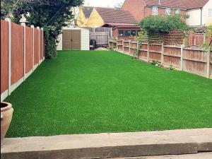 U-Shape Landscaping Grass Turf